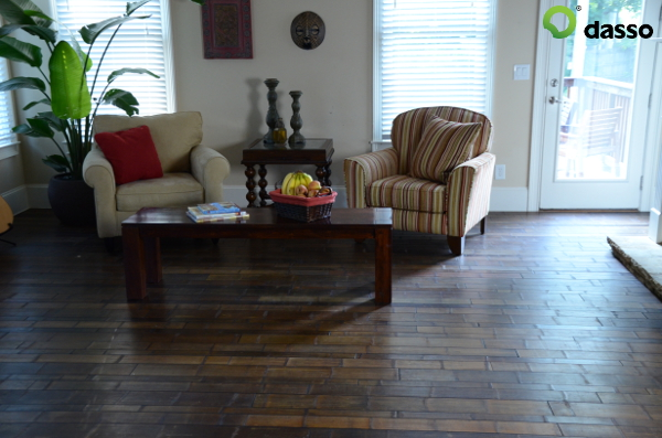 Characteristics of bamboo make it a great material for flooring